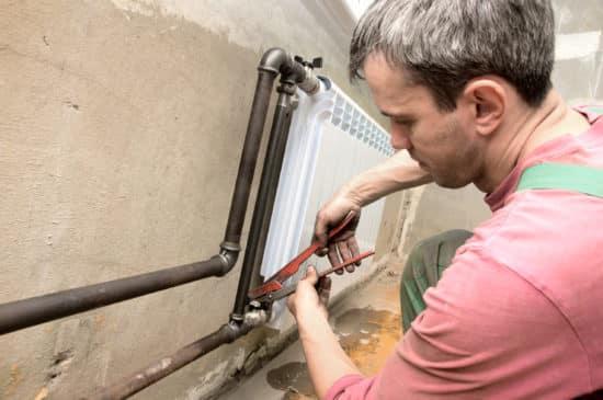 plombier biarritz - entretien d'un radiateur