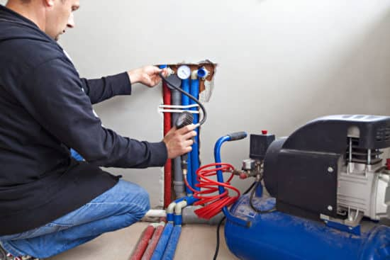 artisan plombier reims - Installation d'un réseau de plomberie