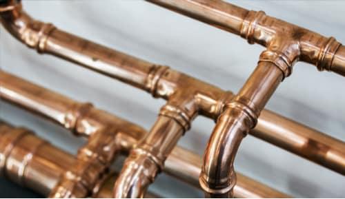 plombier Rouen - tuyaux en cuivre