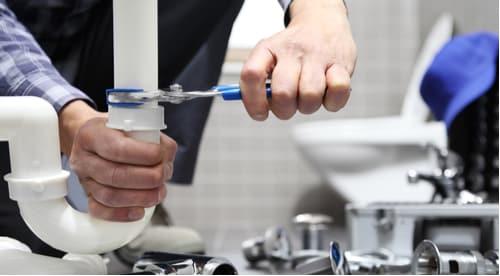 plombier Rouen - installation d'un siphon de robinet