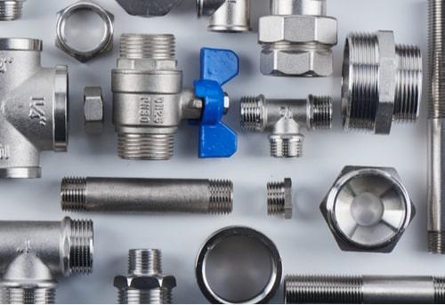 plombier caen - présentation des éléments de tuyauterie