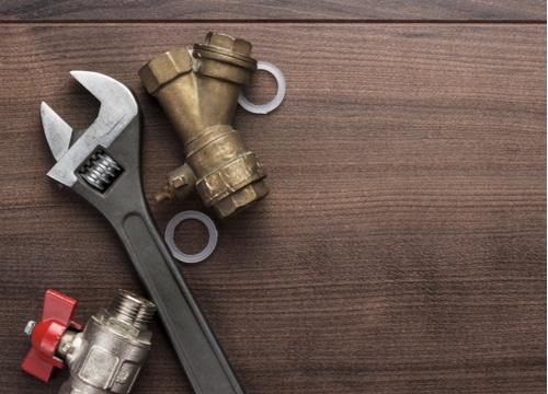 plombier caen - clé à molette
