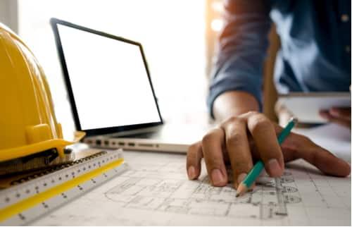 plombier nimes - plan de construction