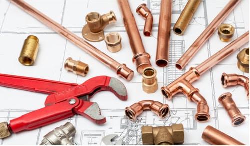 plombier rouen - outils et tuyaux de plomberie