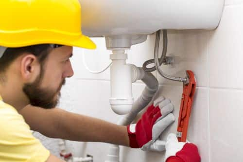 plombier Lyon 6 - installation d'un flexible de lavabo
