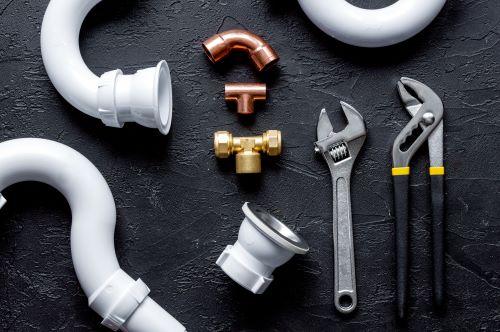 plombier Poissy - un ensemble d'éléments de plomberie