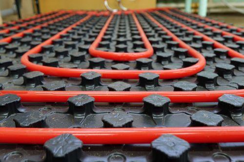 plombier Pontault-Combault - vue d'un plancher chauffant