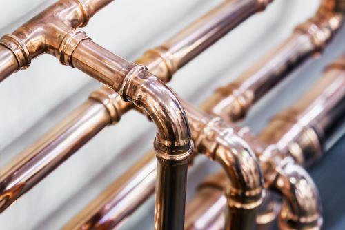 plombier Villiers-sur-Marne - une photo d'un circuit de plomberie en cuivre