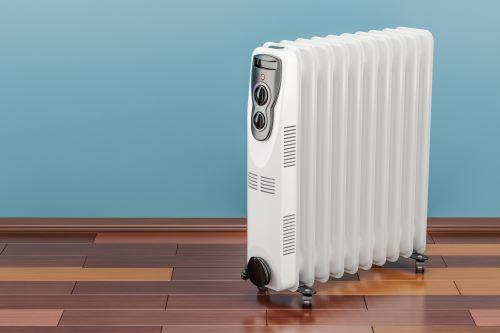 Chauffagiste Antony - Un radiateur électrique mobile.