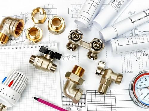 Plombier Nice - Raccords de plomberie en laiton.